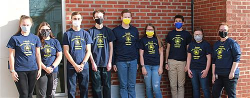 Pictured is the Hannibal High School SADD Club.