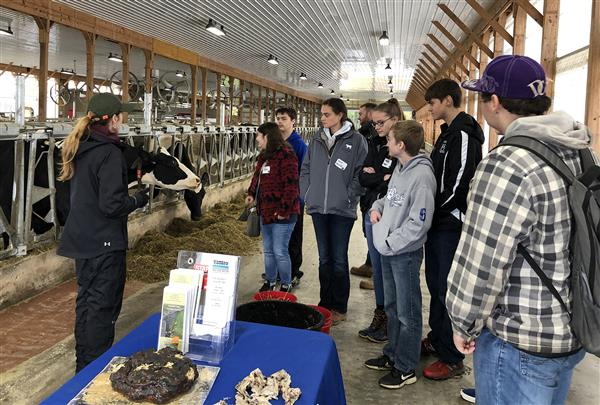 Hannibal students explore careers in agriculture